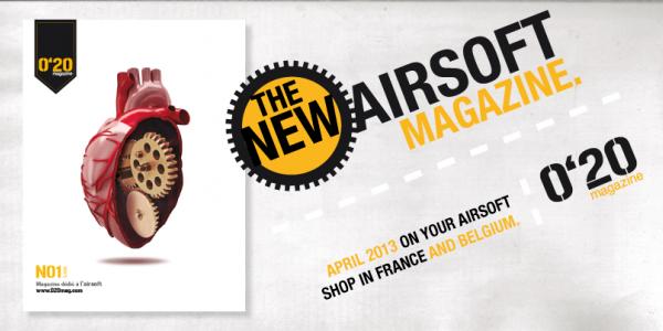 Spanish 0'20 magazine coming to France and Belgium