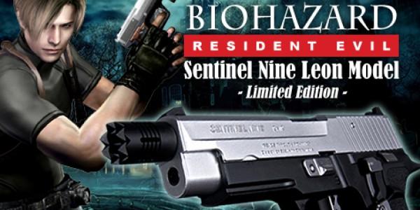 Leon Sentinel Nine resident evil handgun at redwolf