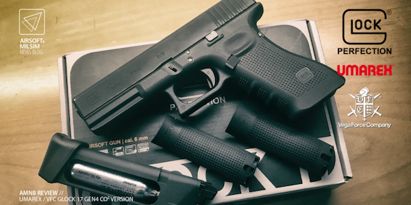 UMAREX Glock17 Gen4 review by AMNB