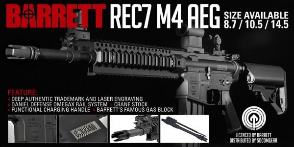 Madbull: Socom Gear launches Barrett REC7 M4