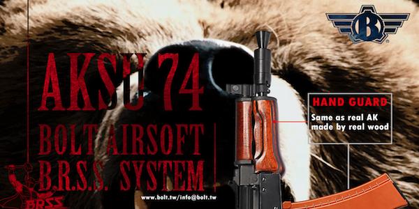 BOLT's Releasing Strongest Recoil AK AEG