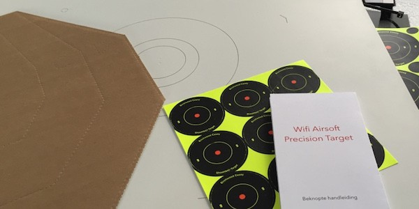Weekend special: WIFI Airsoft Precision Target