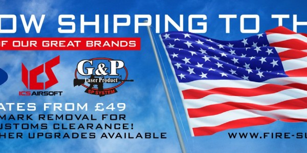 Firesupport ships to USA and Canada!