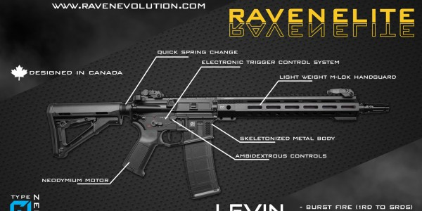 Raven Evolution Launches the Raven Elite AEGs