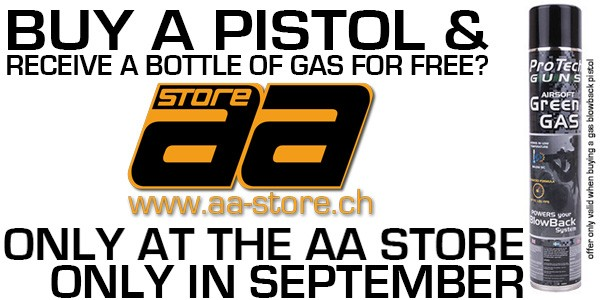 AA Store Free Gas in September!