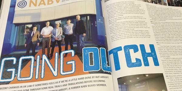 Interview Airsoft Action Magazine OKT 2017 issue