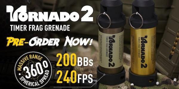 TORNADO 2 Timer Frag Grenade