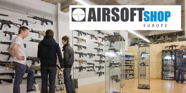 AirsoftShop Europe opens their European webshop!