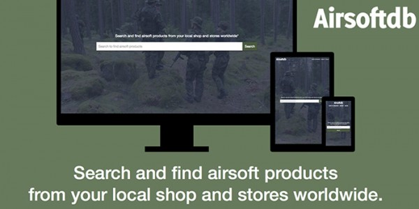 AirsoftDB: Airsoft Search Engine Goes Beta