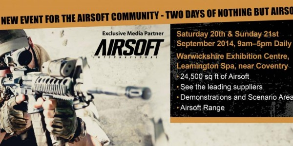 Airsoft Expo - 20th & 21st Sept 2014