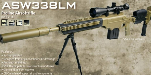 ASG big release sniper rifle