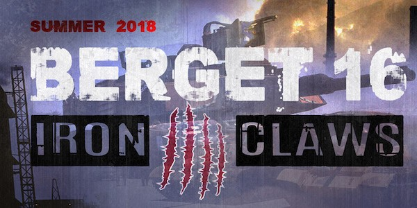 Berget 16 - Iron Claws announced!