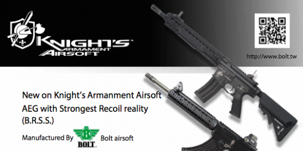 BOLT AIRSOFT released KAC Airsoft productline!