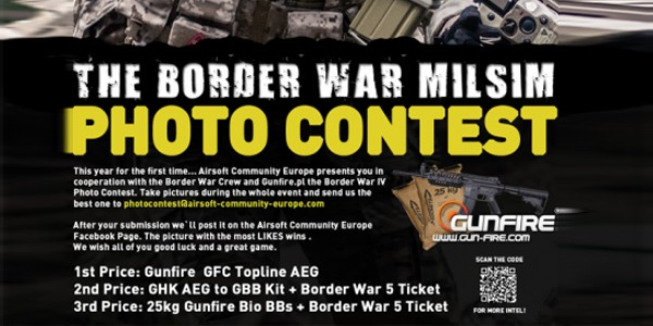BORDER WAR: Photo contest
