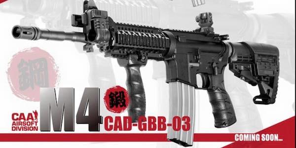 CAA premium M4 GBB announced!