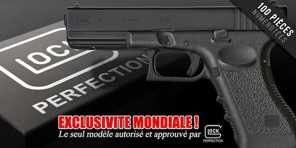 The Airsoft Glock 17 pistol is reality!