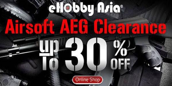 eHobby Asia AEG Clearance Sale