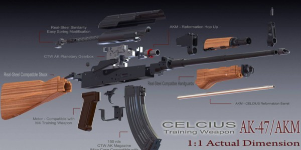 CTW AKM soon at eHobby Asia