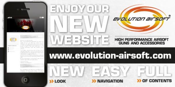 New Evolution Airsoft website