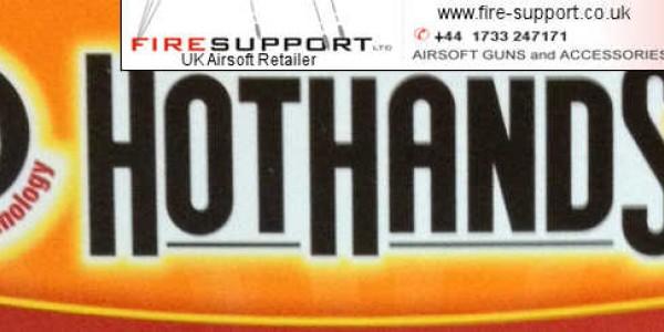 Fire-Support - Hothands Heat Packs