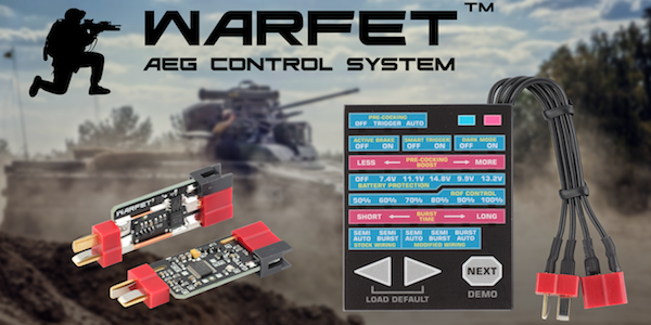 GATE WARFET mosfet released!