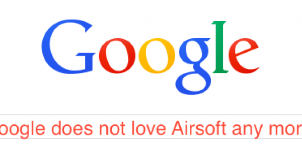 Google Banning Advertisement of Airsoft Products