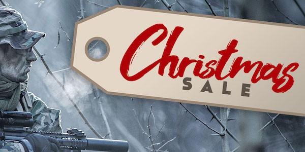Big Christmas sales at Gunfire!