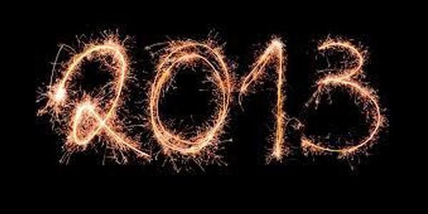 Happy new year! **2013**