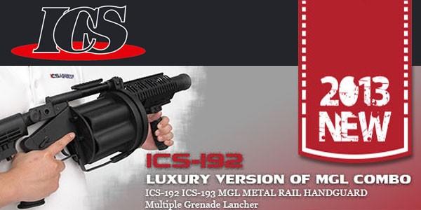 ICS Drum Magazines & MGL Upgrade Version