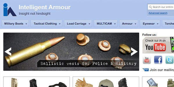 Intelligent Armour new products