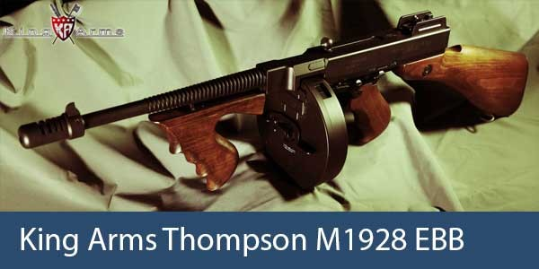 King Arms Thompson M1928 EBB