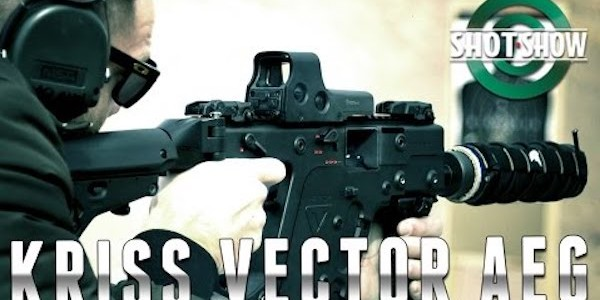 KRISS Vector AEG released to the media on January 18th