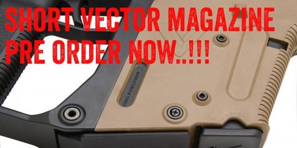 Krytac KRISS Vector AEG short 50 round magazine