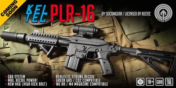 All new licensed Kel Tec PLR-16