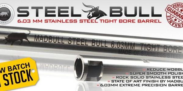 Madbull Steel Bull barrel
