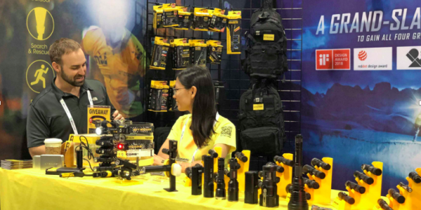 NITECORE Exhibited at 2019 Outdoor Retailer Summer Market