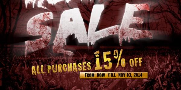 Halloween Sale @ RedWolf Airsoft