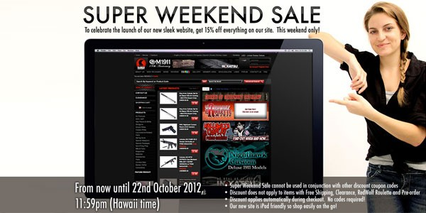 Redwolf new webshop sales!