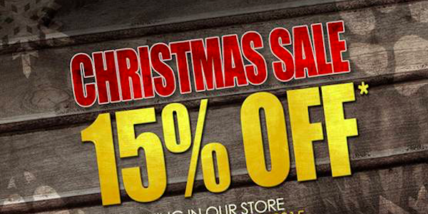 Christmas Sale @ Redwolf Airsoft