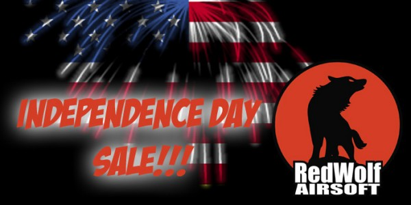 Independence Day Sale @ RedWolf Airsoft
