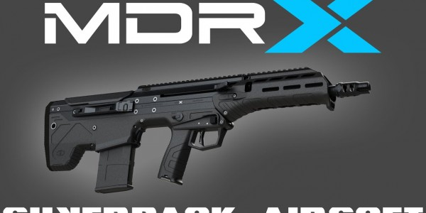 Silverback Airsoft MDR-X almost ready!