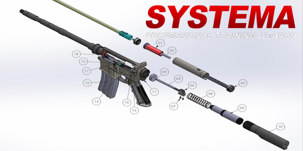 SYSTEMA - P.T.W. recoil model for sale