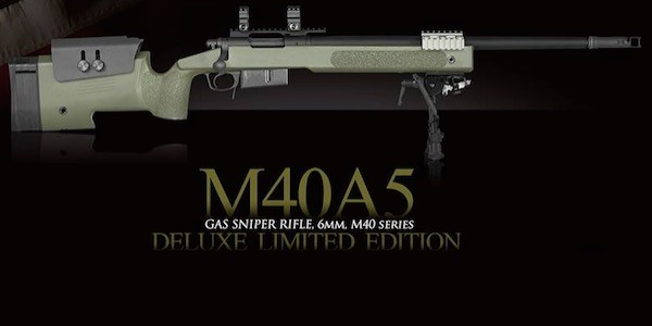 New VFC M40A5 gas sniper rifle