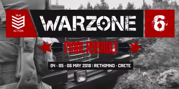 WarZONE 6 2018 Greece!