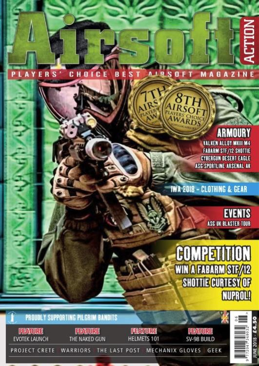 Airsoft Action june 2018 issue