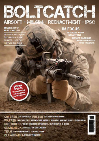 BoltCatch Airsoft Magazine Issue 9