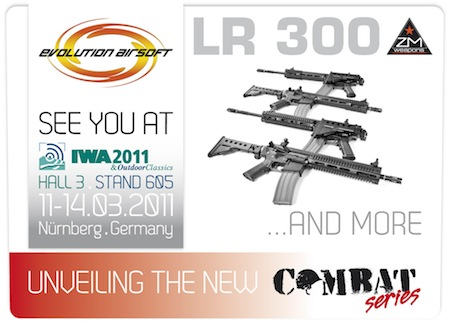 Evolution Airsoft Iwa shot show 2011