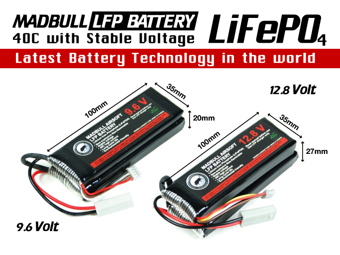 Madbull LFP Batteries